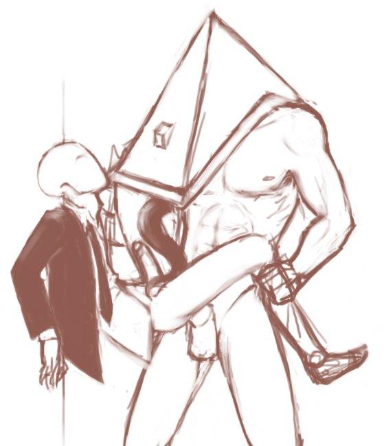 the head pyramid keeper vs Lady (devil may cry)