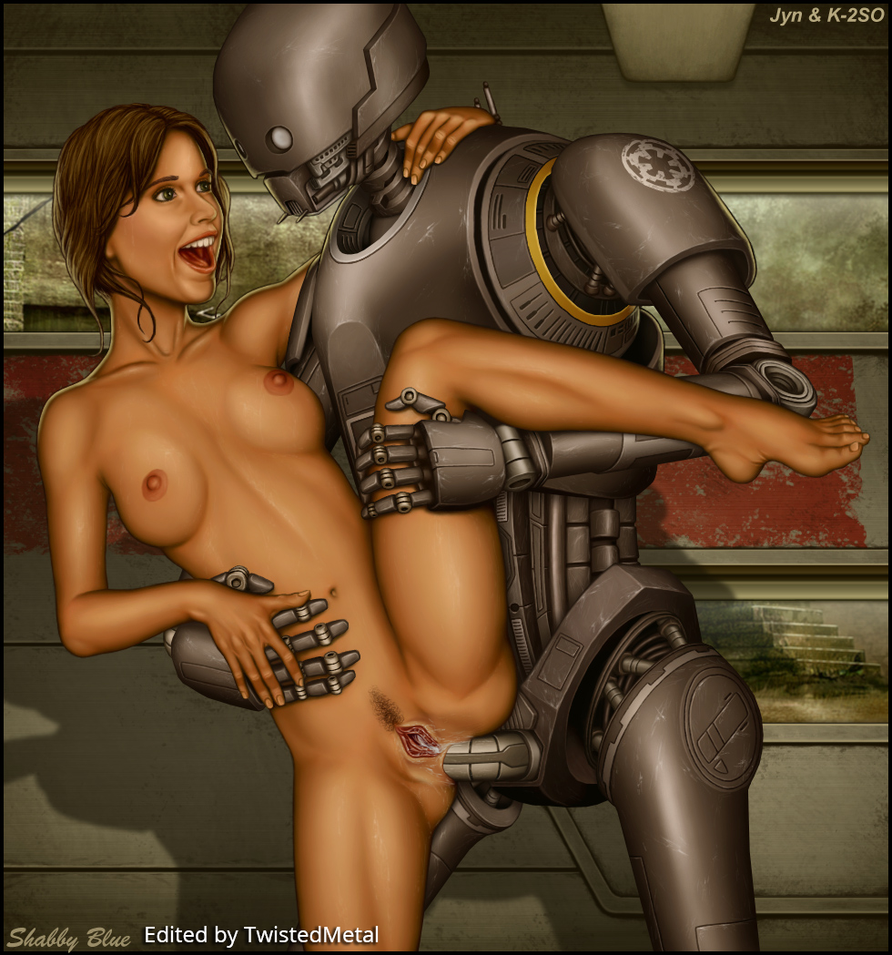 nude wars rogue one star Dog knot deep in pussy