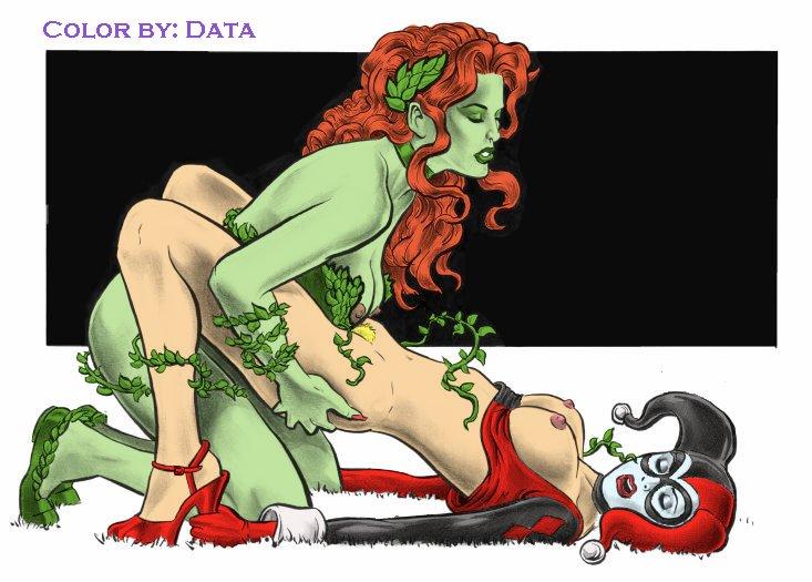 quinn lesbian poison ivy harley Lego legends of chima eris