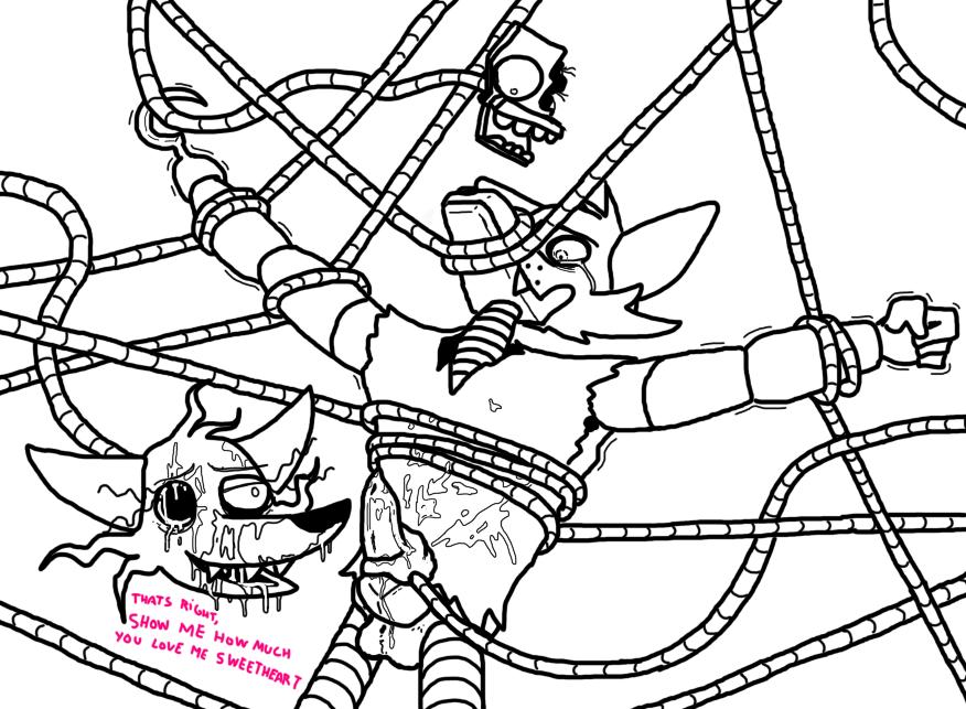 mangle foxy comic x fnaf Dragon ball gt pan age