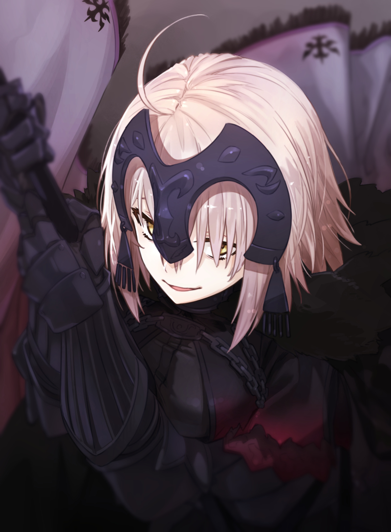 jeanne d'arc (alter) Mighty no 9 call hentai