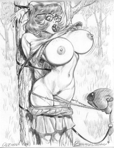 doo velma and scooby daphne naked Final fantasy 3 princess sara
