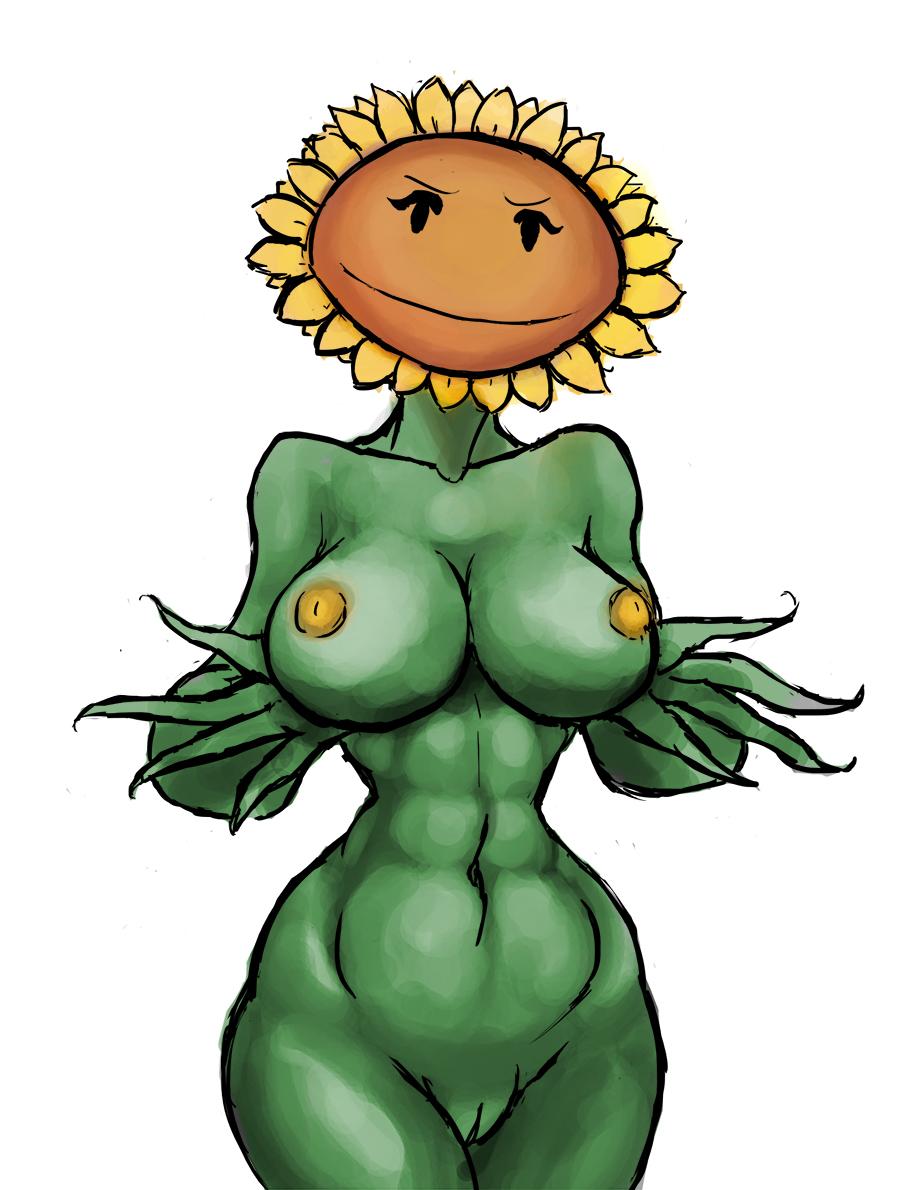 zombies moonflower 2 vs plants Leafa from sword art online