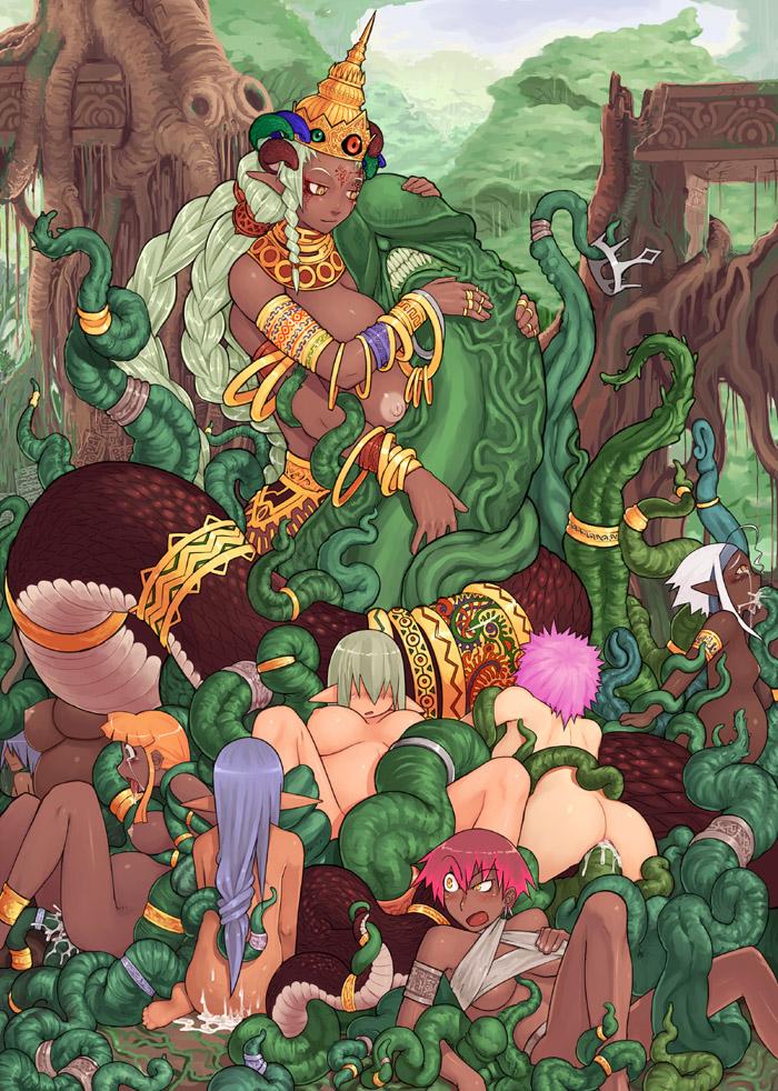tensei fiends iv apocalypse shin megami Blade dance of the elementalers est