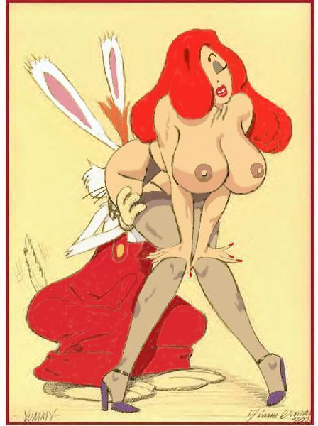 who roger framed rabbit jessica rabbit naked Lori m night in the woods