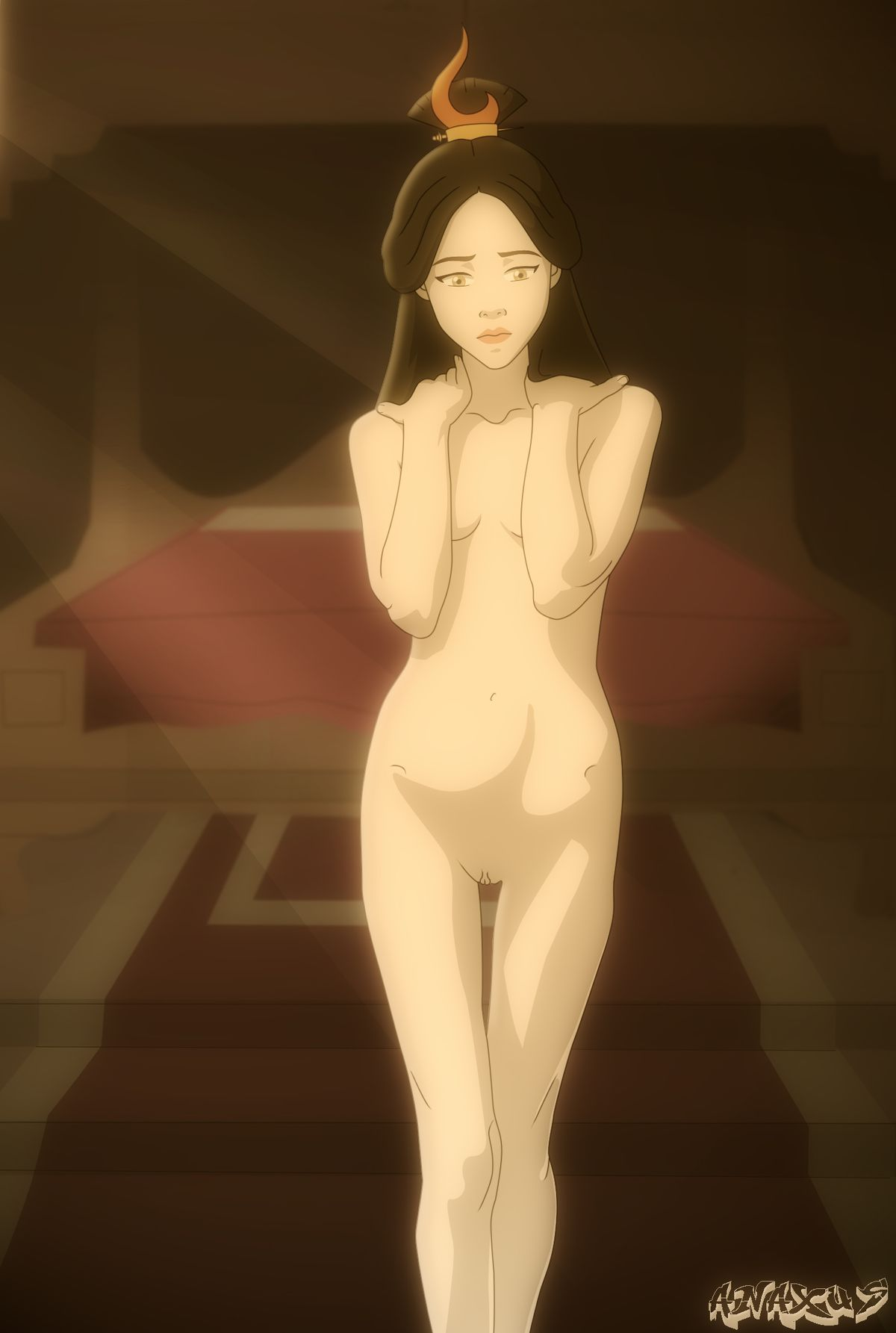 the airbender ursa last avatar Don't bully me nagatoro san