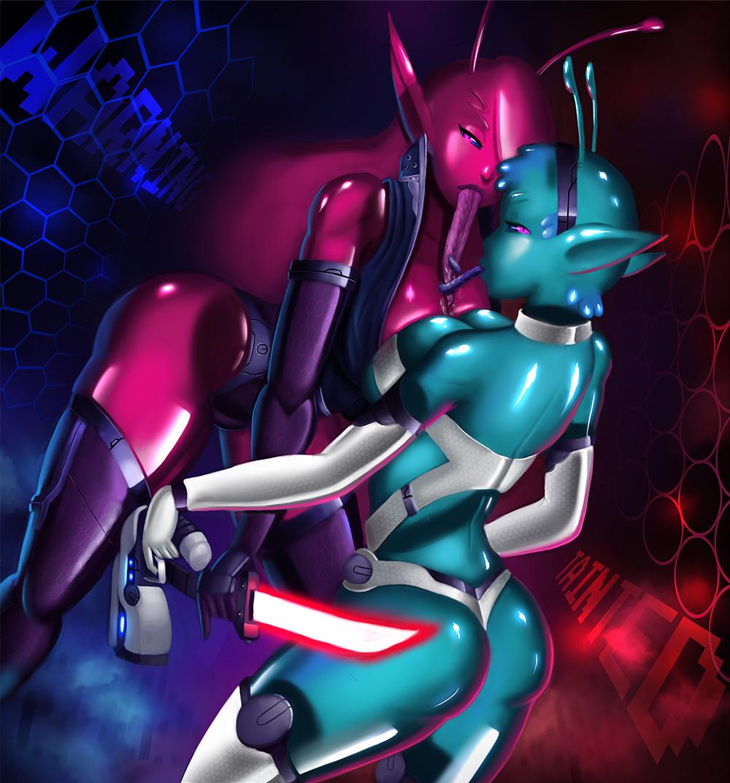 space syri crew tainted in trials Sword art online 2 xxx