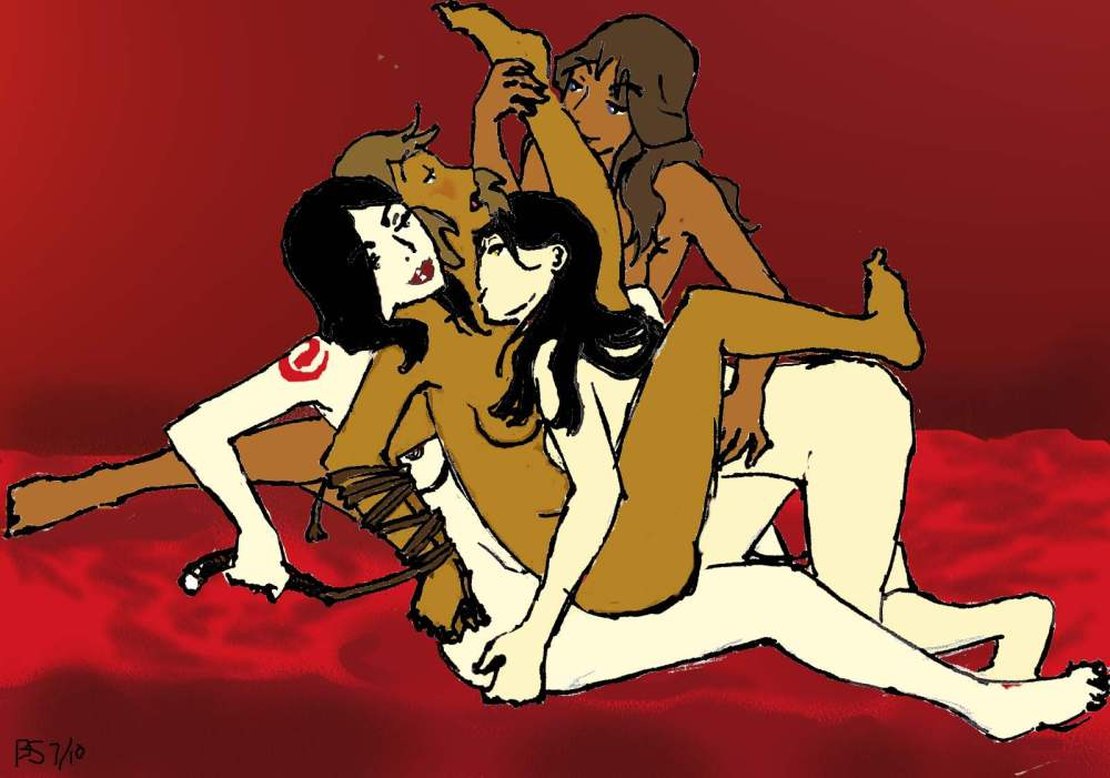 of korra legend avatar xxx Daughters of aku
