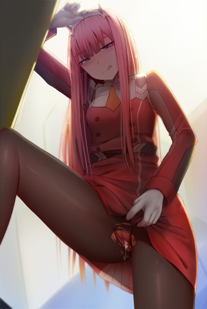 zero the two in franxx and hiro darling Horse cock deep in ass