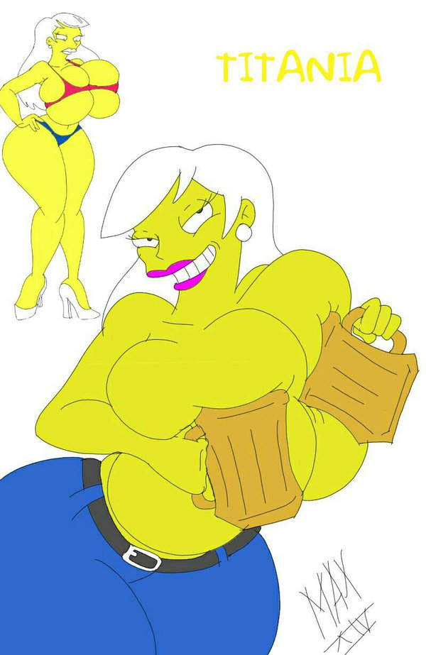 the naked from simpsons marge Fire emblem deep rising hentai