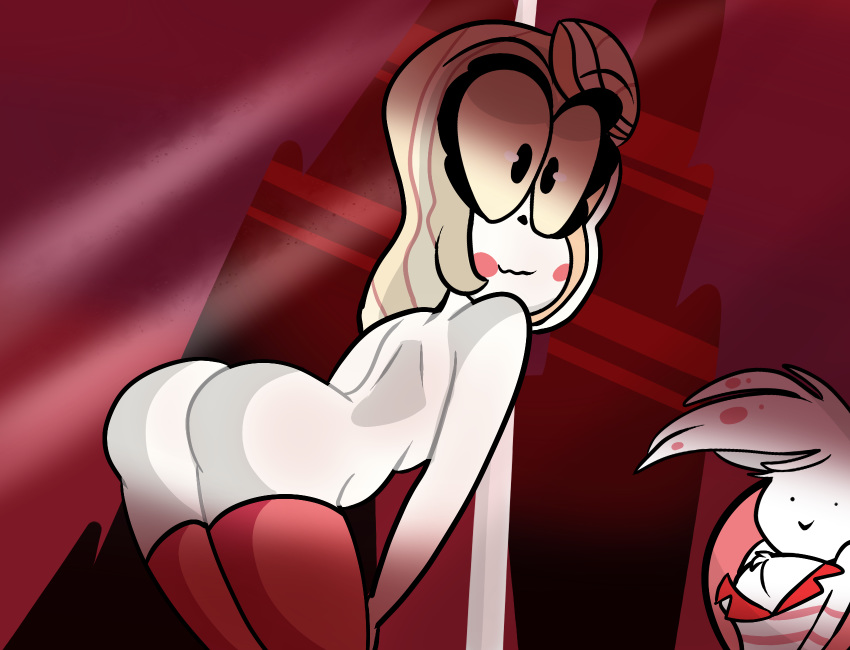 hotel hazbin nsfw angel dust Vanessa from phineas and ferb
