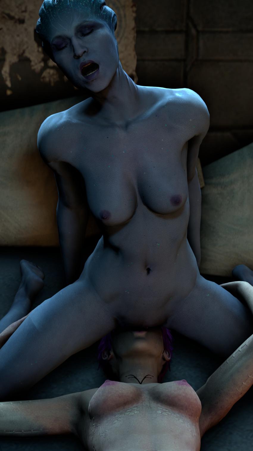 andromeda mass nude effect cora Nekomonogatari black: tsubasa family