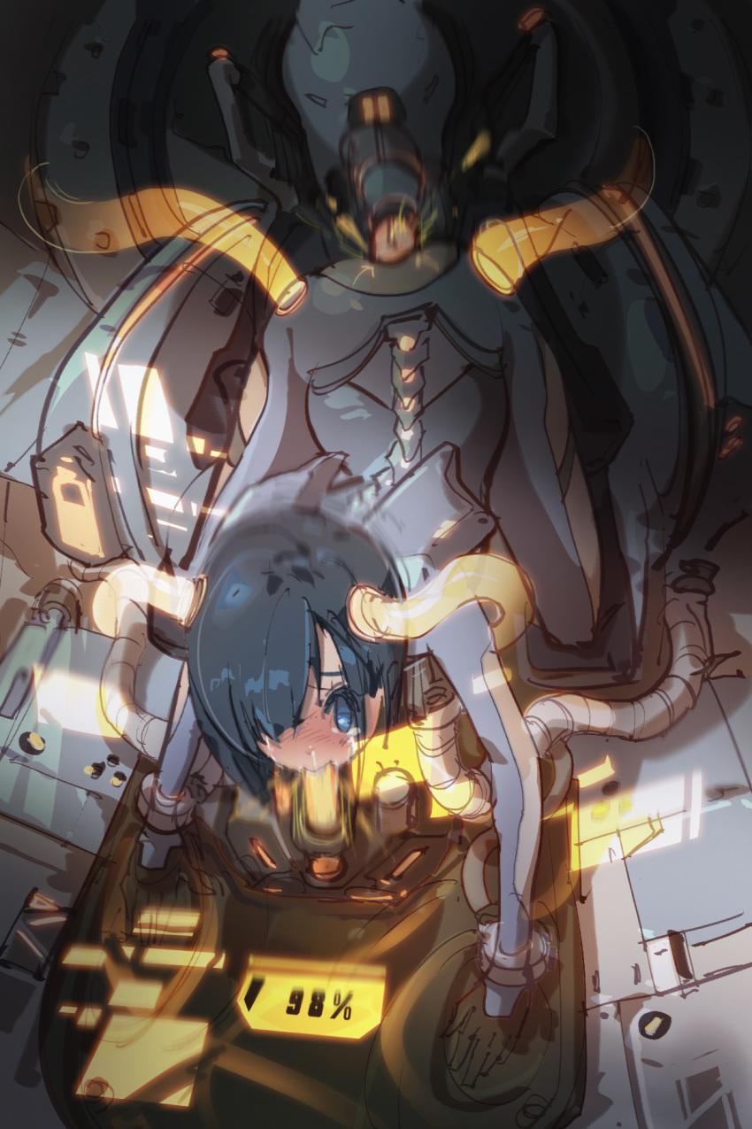 the darling franxx and cockpit In series inshoku chikan densha
