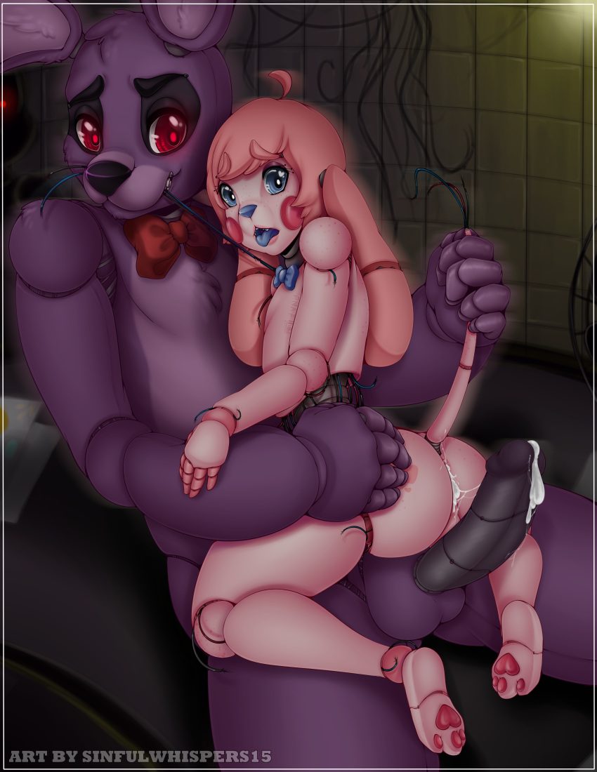 nights five of at freddy's bonnie pictures Futanari on male