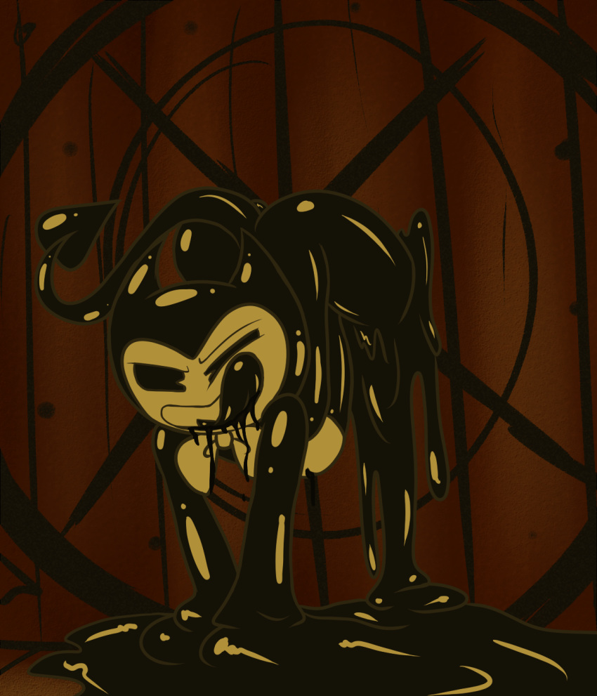 machine ink the bendy and angel My little pony sex gifs