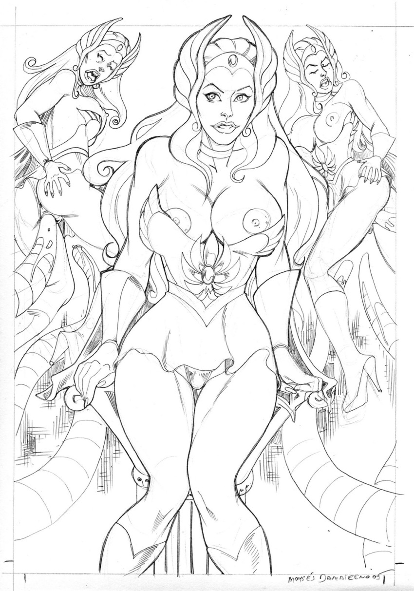 she-ra Spider man unlimited lady vermin