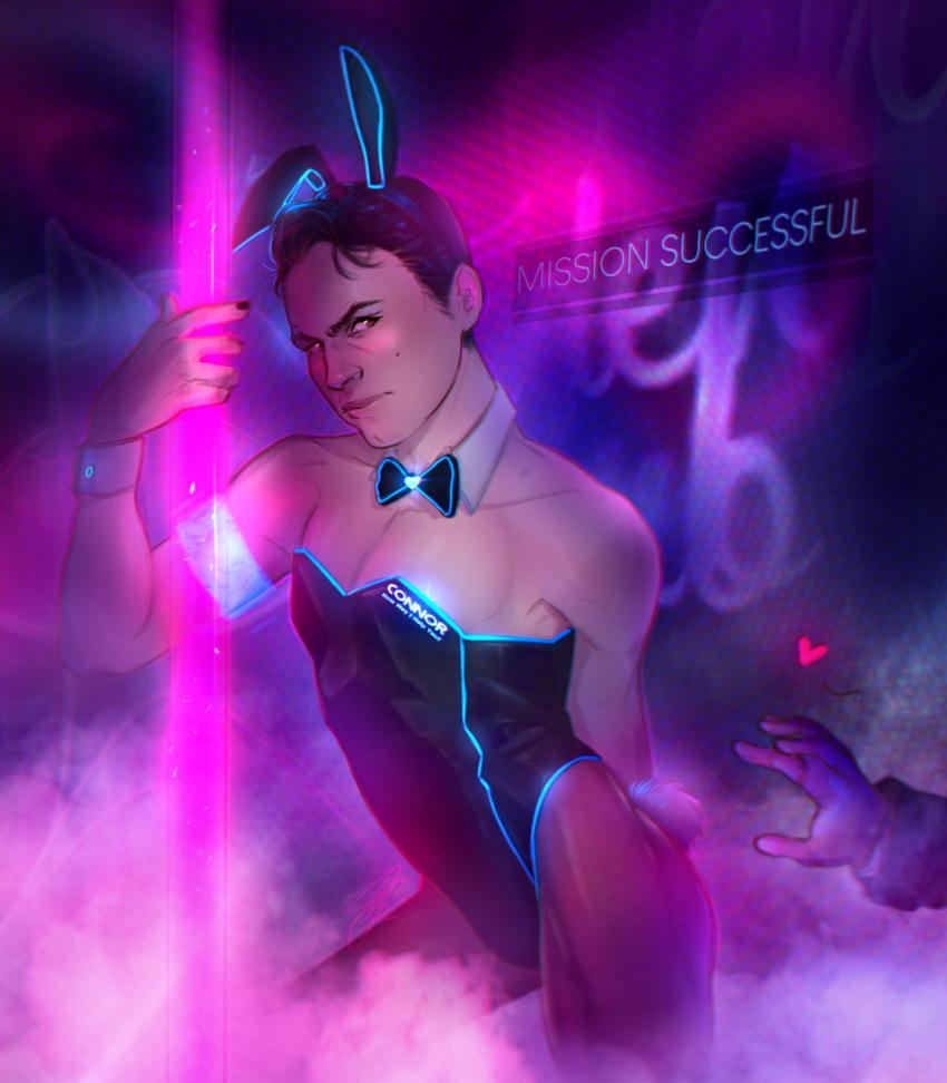 human detroit: connor from become Seishun buta yarou wa bunny girl senpai no yume wo minai