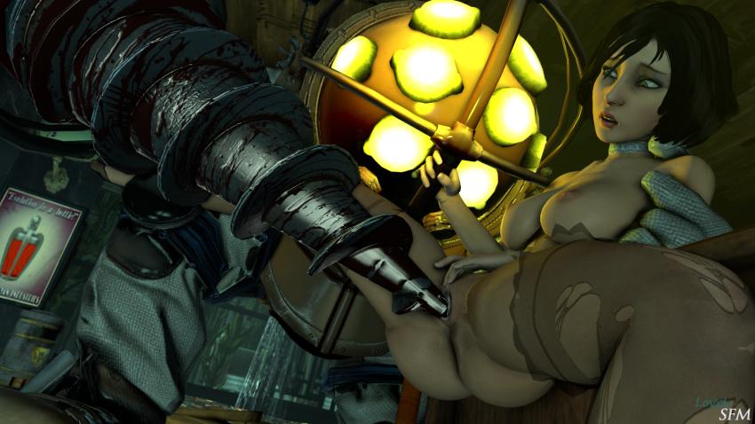 bioshock elizabeth infinite Tales of berseria combo artist