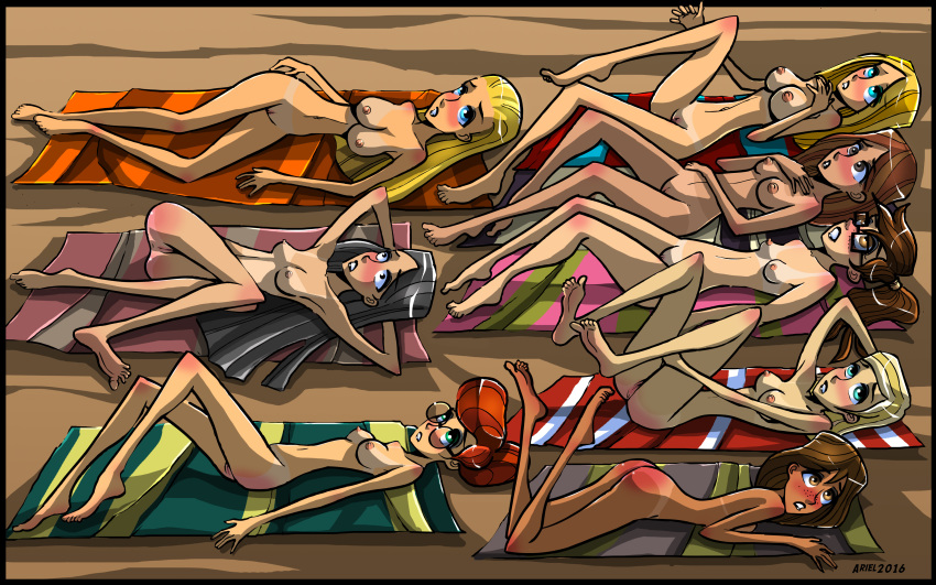 total wedgie island drama heather Rick and morty girls naked