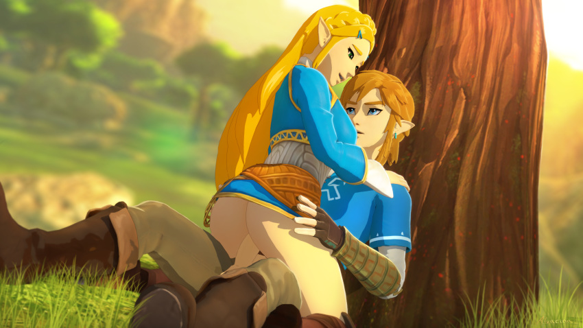 breath the wild underwear of link The amazing chan and the chan clan