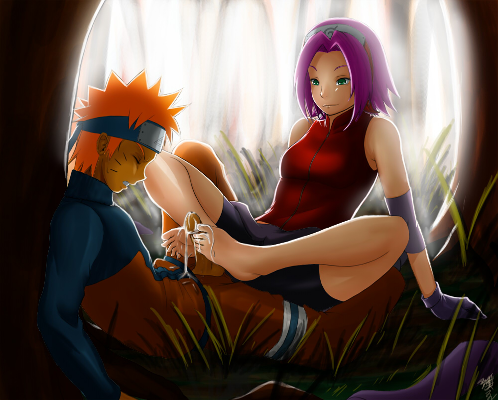 on sakura cheated naruto by fanfiction gets Guy cums in dogs mouth