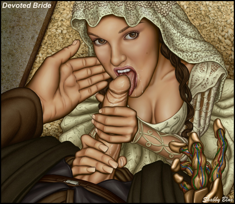 shabby padme on geonosis blue Hermione granger bound and gagged